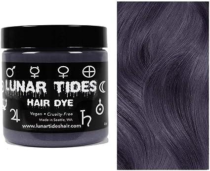 Slate Grey, colorante para el cabello semi permanente gris - 118 ml - Lunar Tides