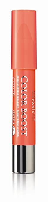 bourjois color boost spf 15 lipstick no 03 orange punch 01 ounce - Color Boost Bourjois