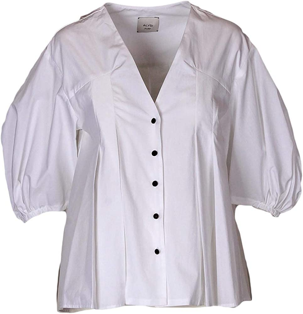 Camisa de popelín de manga larga, fabricada en Italia Bianco 42: Amazon.es: Ropa y accesorios