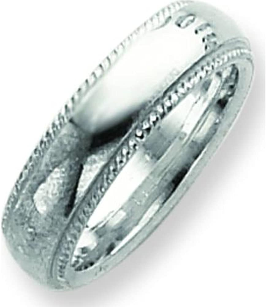 Sterling Silver Comfort Fit Band Sz 11