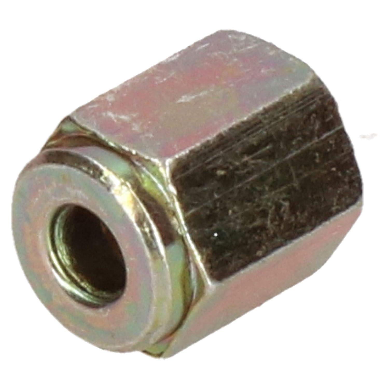 Femelle acier raccords de tuyau de frein 10x1mm pour tuyau de frein 3//16 10pc