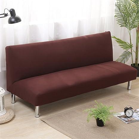 Funda de sofá sin brazos, funda de sofá cama Futon Slipcover ...