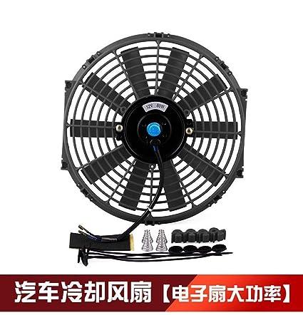SHENLIJUAN Radiador del ventilador del tanque de agua del coche ...