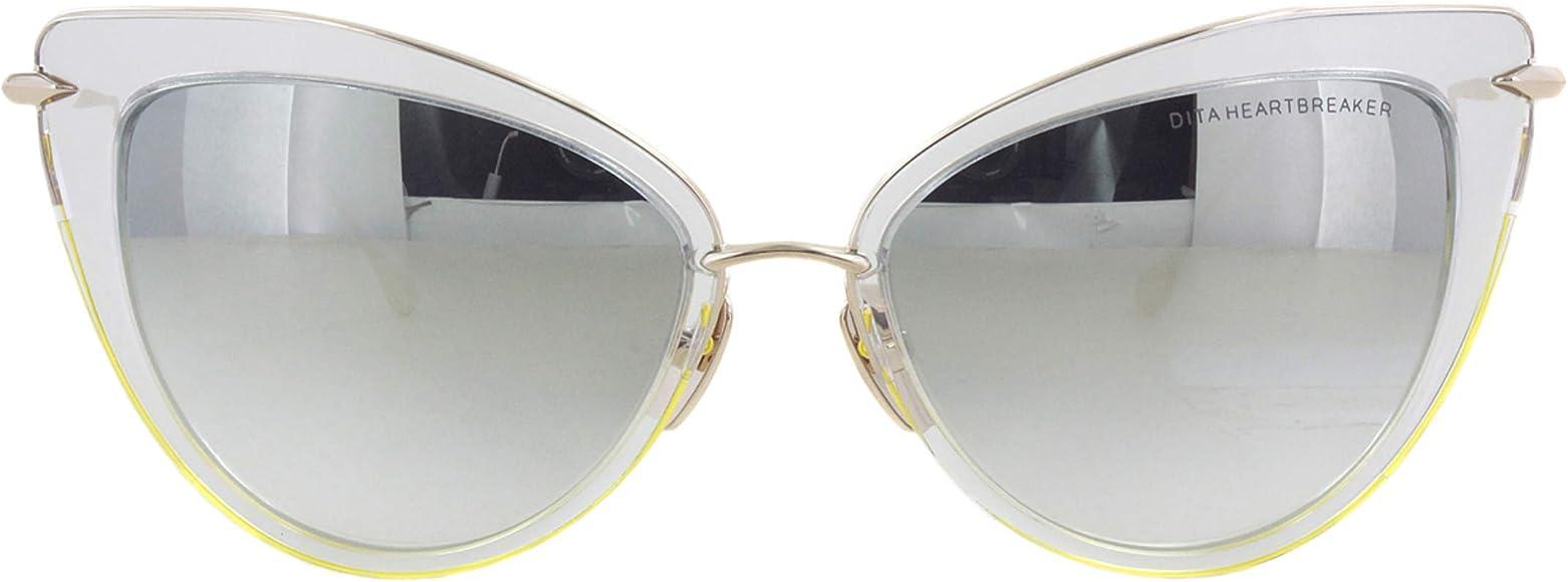 Amazon.com: Dita Heartbreaker 22027-E-CLR-GLD-56-Z - Gafas ...