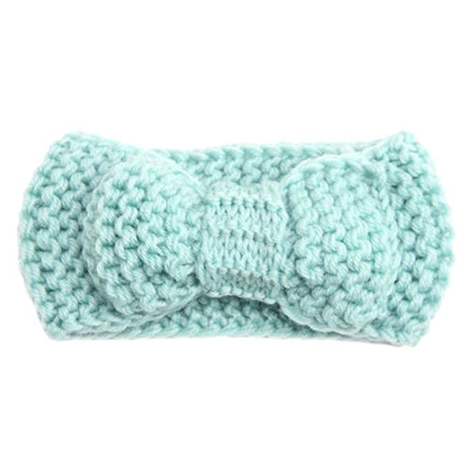 Gootrades Lustiges Baby Kind Mädchen Warm Wrap Haarband Bowknot