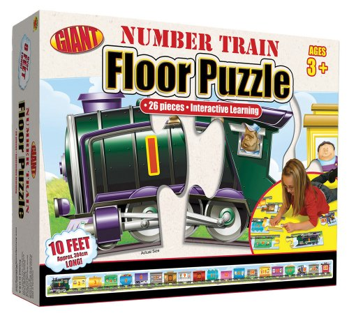 Carson-Dellosa Number Train Floor Puzzle