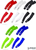 Cycling Arm Warmers Compression UV Sun Rays Protection Stretchy Breathable Arm Sleeves Unisex