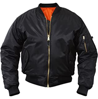 : Alpha Industries Men's MA 1 Flight Bomber Jacket