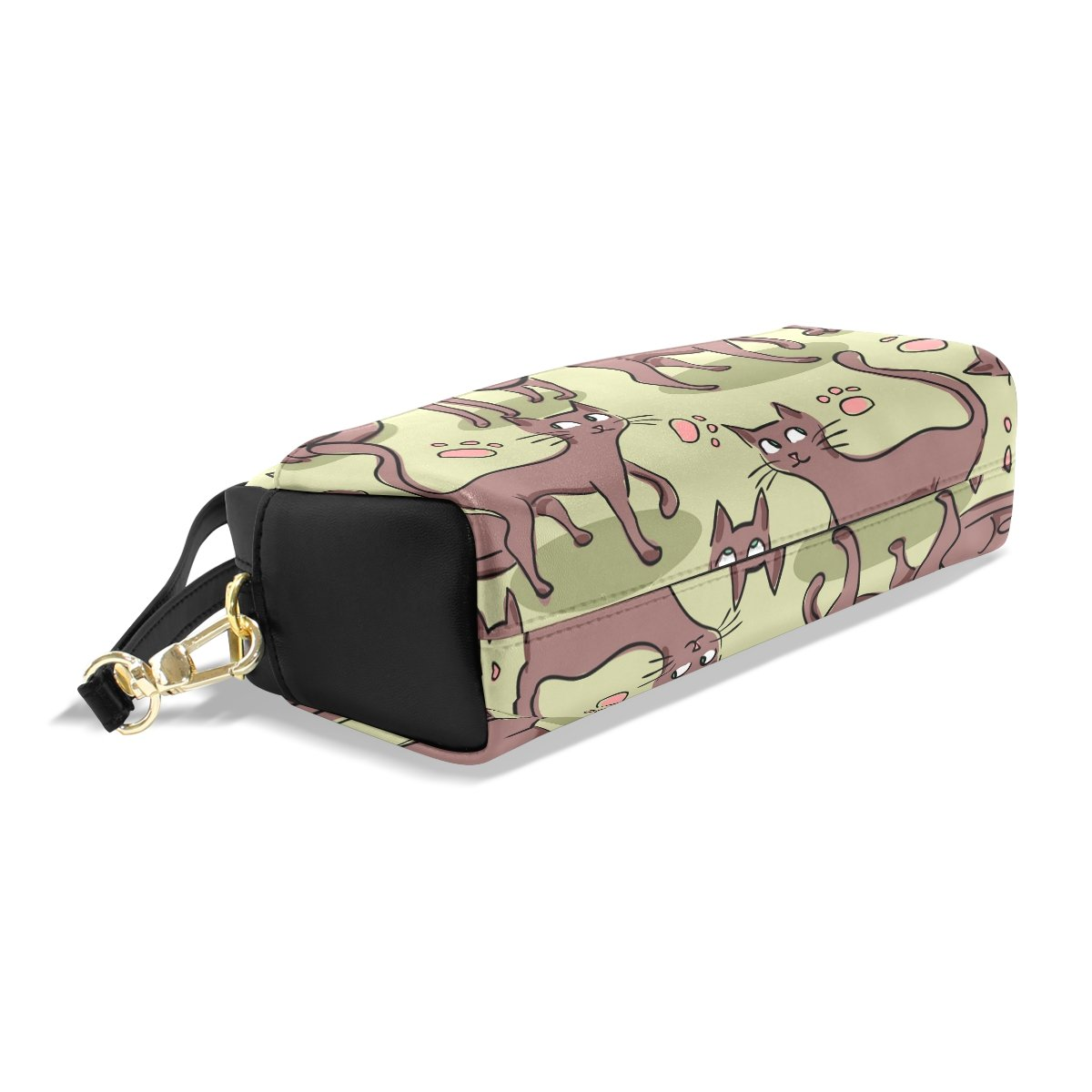 BENNIGIRY Nahtloses Muster mit netten Katzen Bleistift Fall tragbar Pen Pen Pen Tasche Student Schreibwaren Pouch PU Leder Groß Kapazität Reißverschluss Make-up Kosmetiktasche B07BF5QNYP | Reparieren  6ddba9