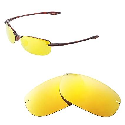 Walleva Lentes de Repuesto para Maui Jim Gafas de Sol Makaha ...