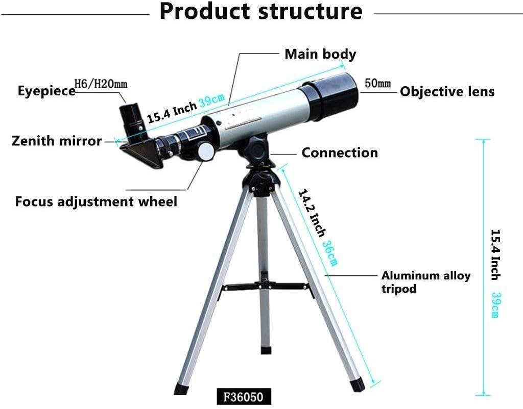 Gulakey Childrens Monocular Entry Small Telescope High-Definition Multi-Angle Rotation Adjustment