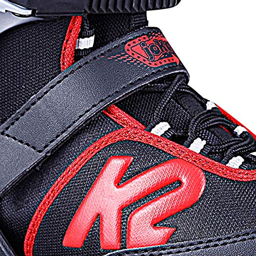 Color Negro y Rojo Patines en l/ínea para ni/ño K2 Joker Ice Talla 35-40-25D0303.1.1.1.L