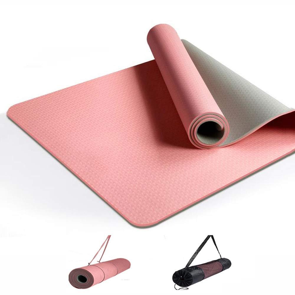 HBMAT Esterilla Yoga Antideslizante,Colchoneta de Yoga TPE ...