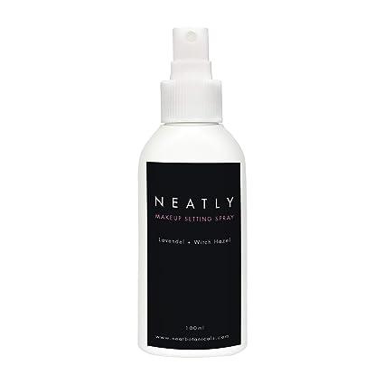 Spray de maquillaje Neatly | Maquillaje natural 100 ml | Spray de fijación para el cuidado ...