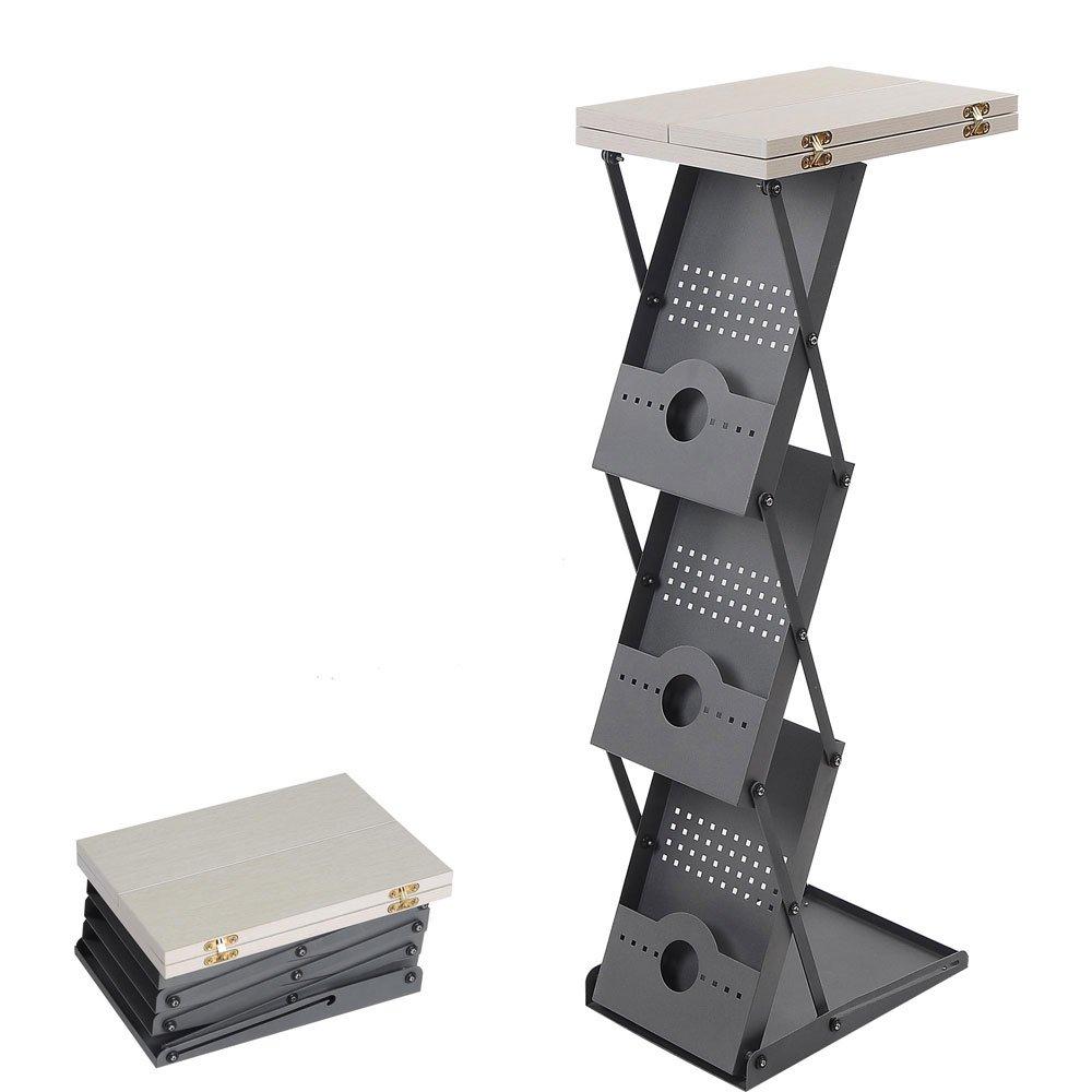 TRIPREL INC. Portable Counter Literature Brochure Holder Folding Rack Table Trade Show Podium