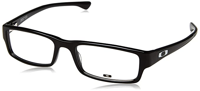 89df850833d Amazon.com  Oakley OX1066-01 Servo Eyeglasses-Polished Black-53mm ...