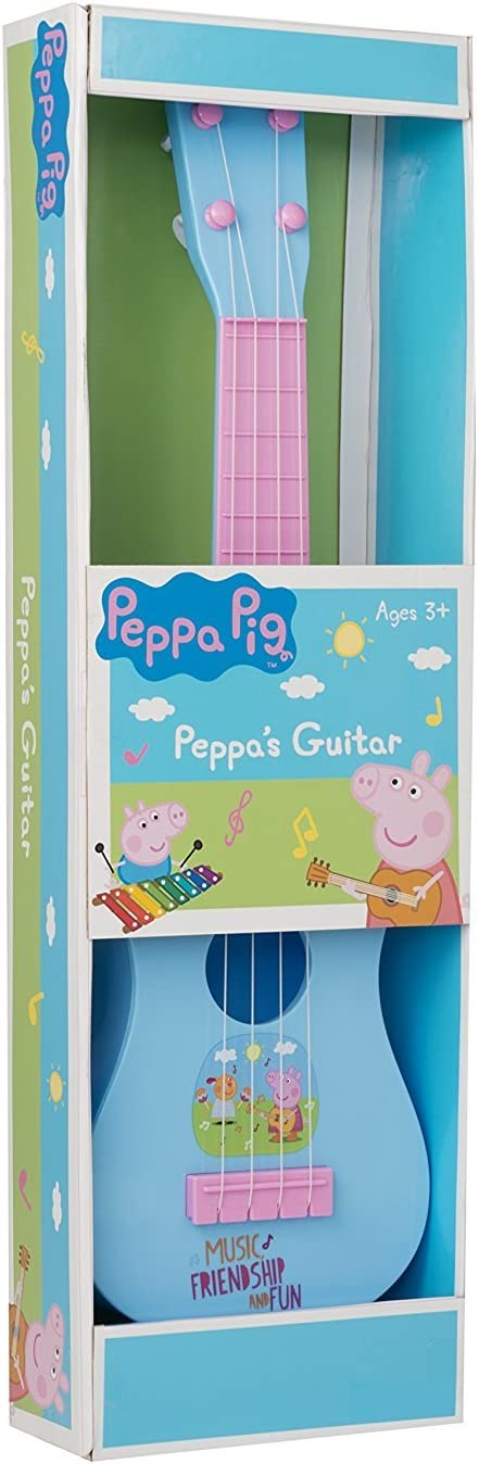 Peppa Pig Pigs - Guitarra a Partir de 3 años: Amazon.es: Juguetes ...