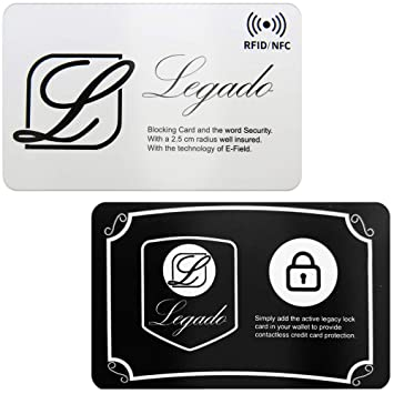 Protector de Tarjeta RFID LEGADO para Billetera o Tarjetero ...
