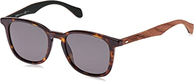 Hugo Boss Boss 0843/S RA RAH gafas de sol, Marrón (Havana Brown/Grey Pz), 52 Unisex-Adulto