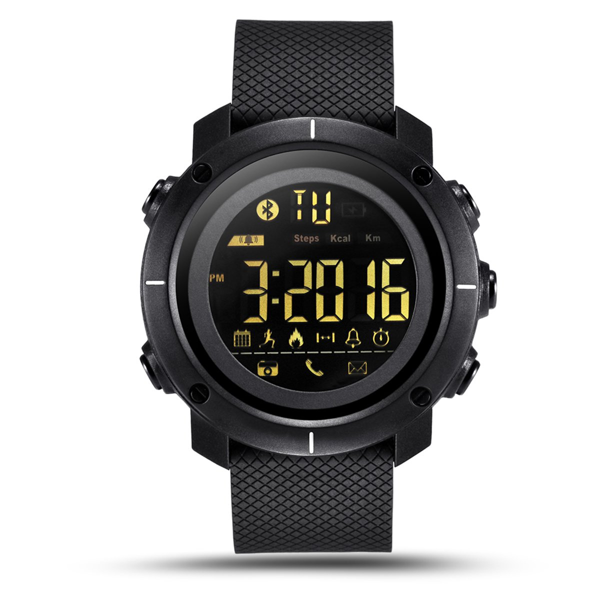 nicerio LF19 Smart Watch Hombre Impermeable Mujeres Wearable ...