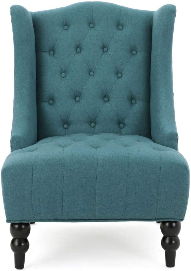 Christopher Knight Home High-Back Fabric Wingback Chair