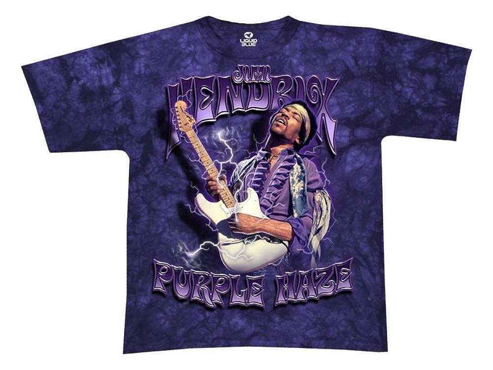 81c0d158fd8e3 Jimi Hendrix - Purple Haze Tie-Dye T-Shirt
