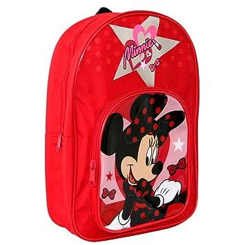 Trademark Niñas Mochila | Pequeña | 33 x 23 x 9 cm | Disney Minnie Mouse: Amazon.es: Juguetes y juegos