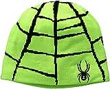 Spyder Boys Web Hat, Bryte Green/Black, One Size