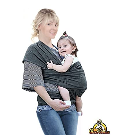 Buy Beebeerun Baby Wrap With Adjustable Breastfeeding Cover Utterly