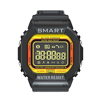 EX16 Rugged Waterproof Sports Smart Watch for Men Women Bluetooth Smartwatch with Activity Tracker Pedometer Steps Calories Counter Stopwatch Long ...