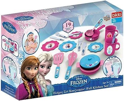 Multi Colour Bildo 8708 Frozen Big Kitchen Set