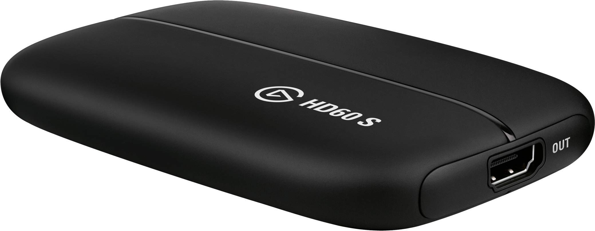 Elgato Game Capture Card HD60 S - Stream and Record in 1080p60, for PlayStation 4, Xbox One & Xbox 360 (Renewed)