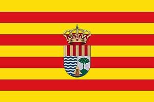 magFlags Bandera Large El Campello Alicante, España | Bandera Paisaje | 1.35m² | 90x150cm: Amazon.es: Jardín