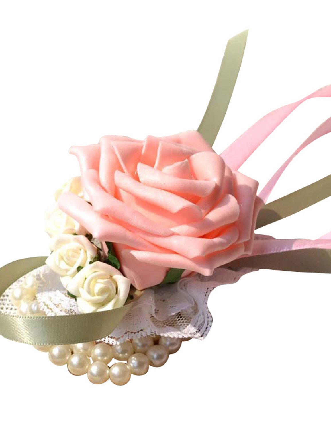 Bridal Flower Wrist Corsages: Amazon.co.uk