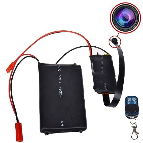 eyeCam EC12513 Cámara espía con mando a distancia, Full HD 1080p