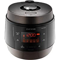 Cuckoo 8 in 1 Multi Pressure cooker (Pressure Cooker, Slow Cooker, Rice Cooker, Browning Fry, Steamer, Warmer, Yogurt Maker, Soup Maker) Stainless Steel, Made in Korea, ICOOK Q5 SUPERIOR, CMC-QSN501S