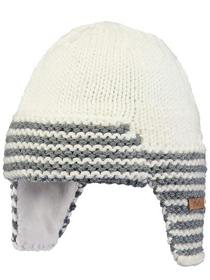 Barts-Bonnet Naissance en Maille Blanc bébé Fille du 3 au 12 Mois  Amazon.fr   Vêtements et accessoires 9a9cd384422