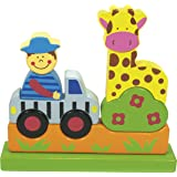 Ulysse Couleurs d'enfance - 59702 - Puzzle Magnétique - Le Zoo