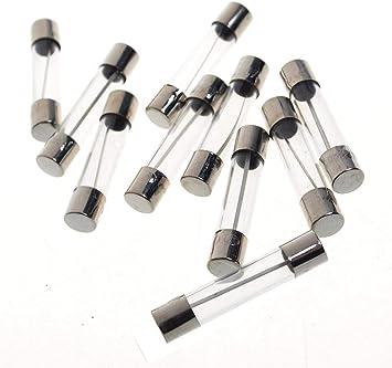 Blow Verre Fusible Quick 8 Amp 250 V rapide 6 mm x 30 mm-F8AL250V 10 pcs