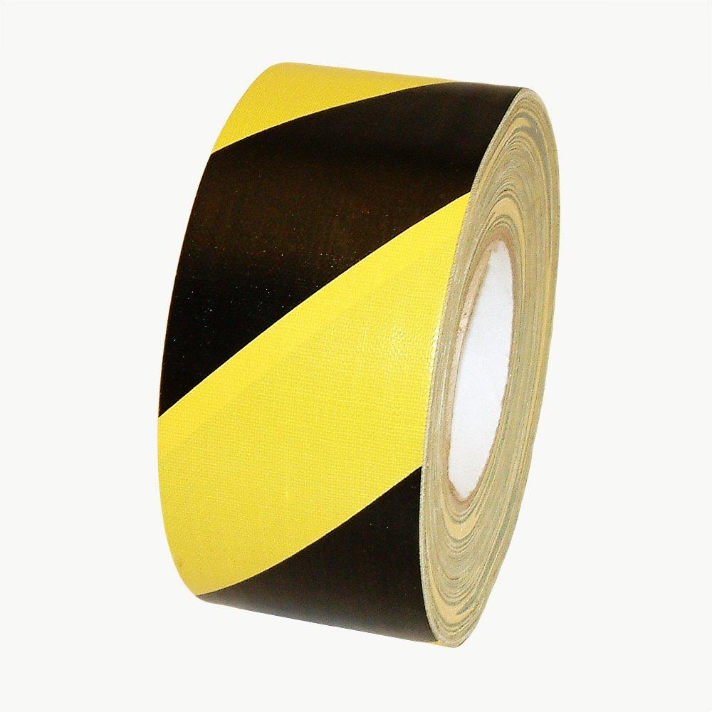 J.V. Converting HZ-DT1/BLKYS360 JVCC HZ-DT1 Hazard Duct Tape: 3'' x 60 yd, Yellow/Black