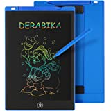 DERABIKA Boys Gifts, 11 Inch LCD Writing Tablet Doodle Board with Rainbow Color, Educational Toys for 3 4 5 6 Year Old Boys,