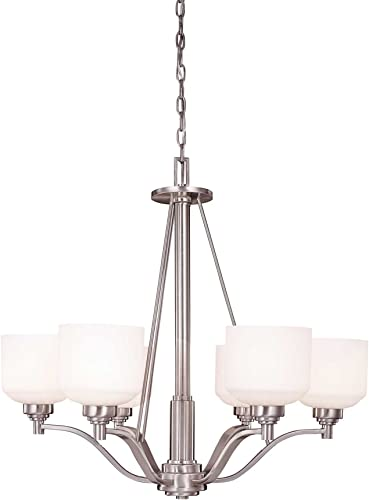 Savoy House 1-4664-6-69 Wilmont 6 Light Chandelier Pewter 6 – E Bulbs