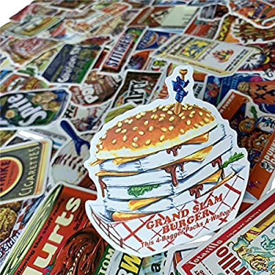 Humorous packaging series stickers Cool and Cute stickers (75Pcs),Laptop and Water Bottle Motorcycle Bicycle Skateboard Luggage Decal Aesthetic Sticker Pack for Teens, Girls, Women Vinyl Stickers Wate: Toys & Games