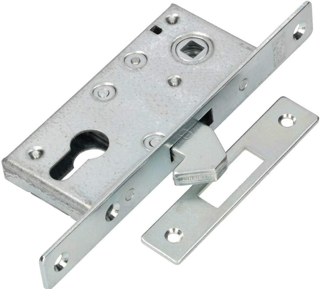 KOTARBAU® - Cerradura de gancho para puerta corredera H-60 de metal galvanizado resistente a la corrosión