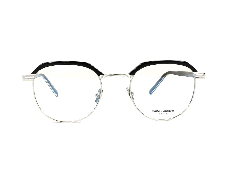 341665699ce Saint Laurent SL 124 BLACK BLACK Eyeglasses at Amazon Women s Clothing  store