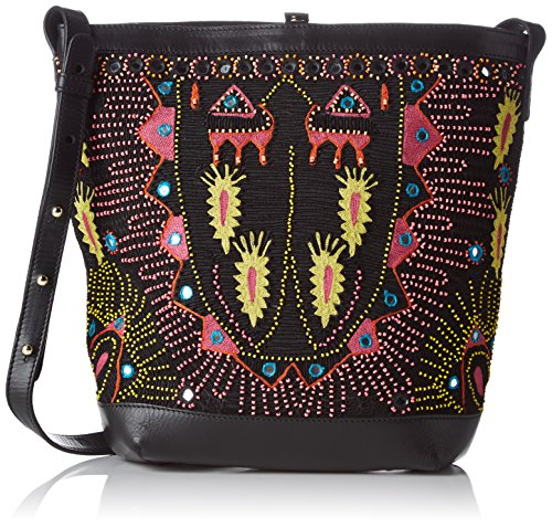 Antik Batik Saporta, Borsa tote donna multicolore Multicolore(Multico) 16x28x30 cm (W x H x L)