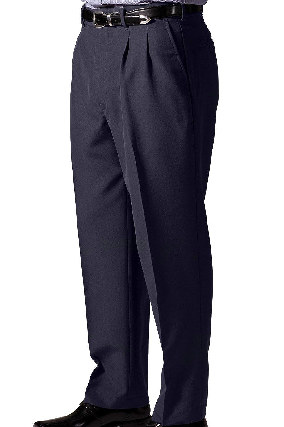 Navy 36-Ul Ed Garments MenS 2650 One Back Pocket Dress Pants