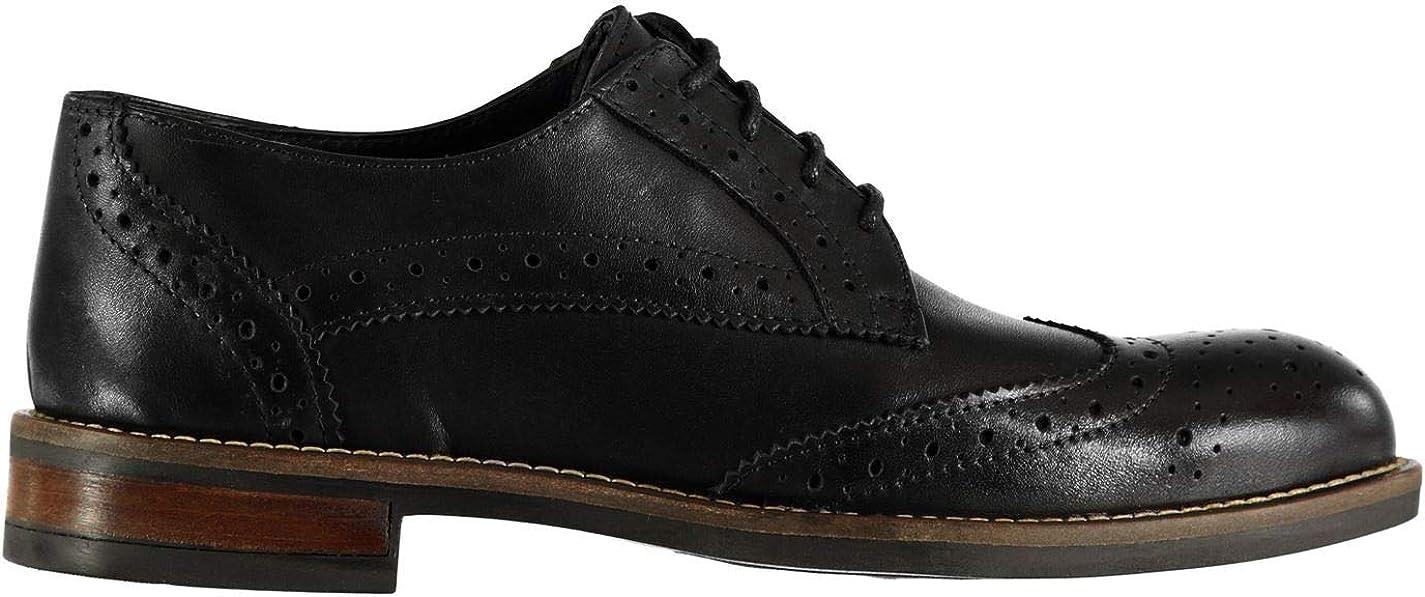 Firetrap Avila Derby Chaussures À Lacets Pour Femme Noir