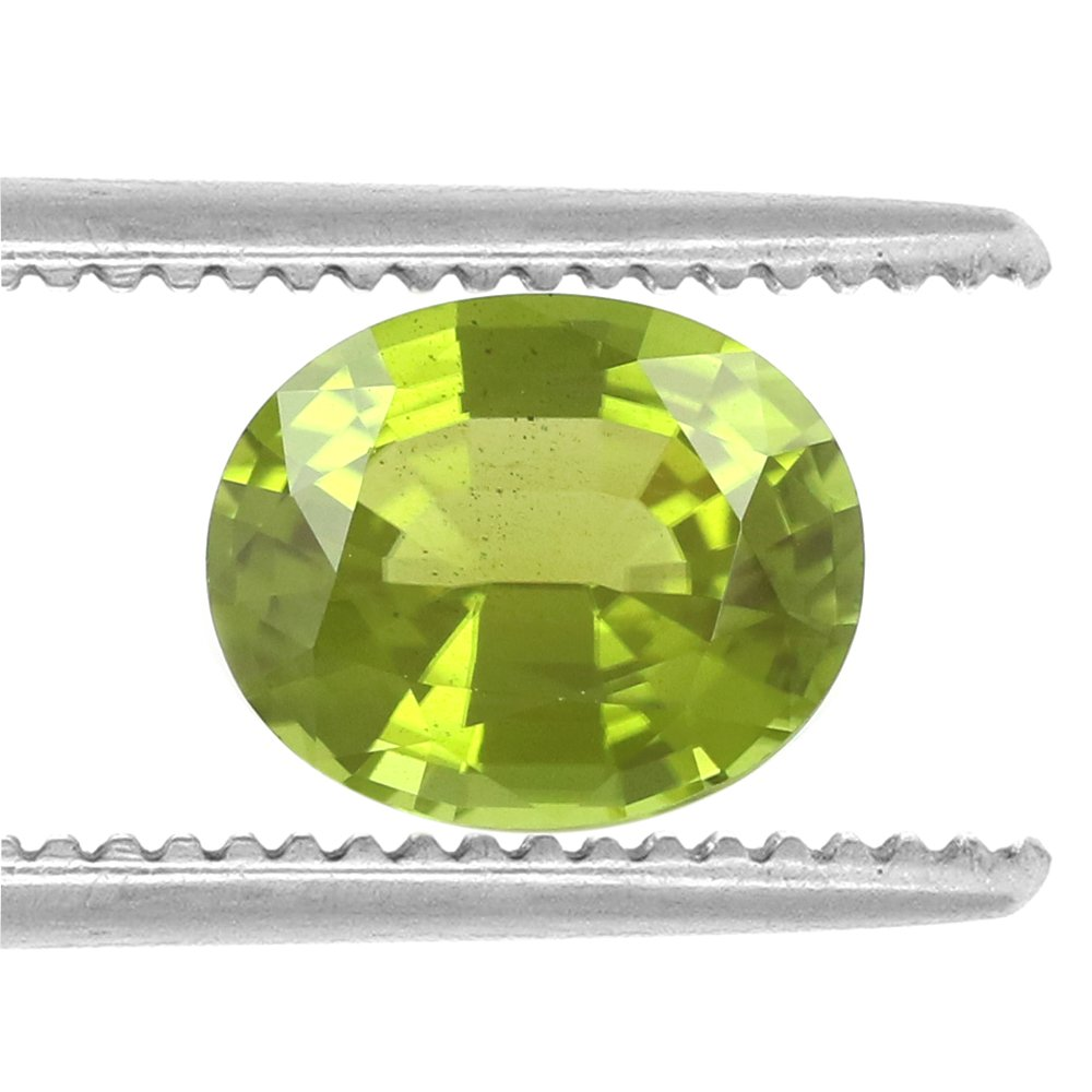 100%Natural Peridot Burma Oval 9.49 Carats TCW Fine Quality Gem By DVG by DVG Jewellery (Image #2)
