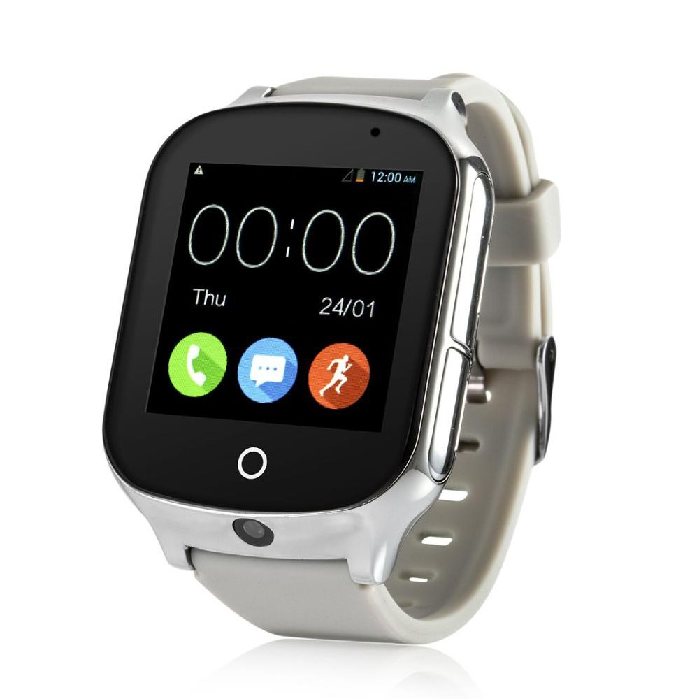3G WiFi Phone Call GPS Smart Watch, Tycho Real-time Tracking SOS GPS Tracker Watch, Geo-Fence Elderly GPS Watch Touch Screen Camera Step Counter Kids GPS Watch SOS Alarm Anti-Lost GPS Watch